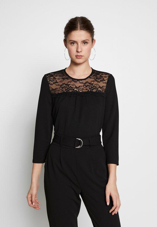 ONLMONNA - Långärmad tröja - black
