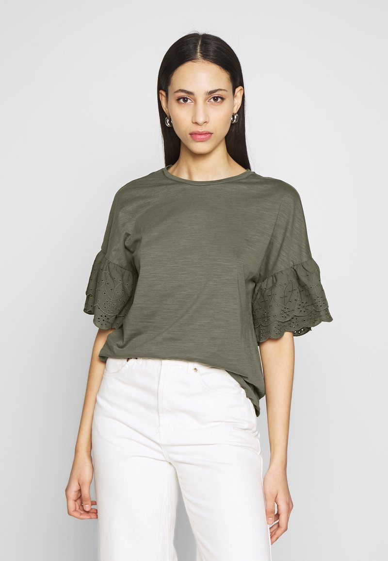 ONLY Tall - ONLCELINA LIFE - T-shirts med print - kalamata