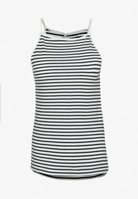 ONLY Tall - ONLMAY LIFE STRIPE 2PACK - Top - black/cloud dancer - 1