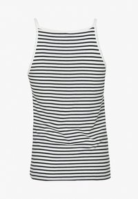 ONLY Tall - ONLMAY LIFE STRIPE 2PACK - Top - black/cloud dancer - 2