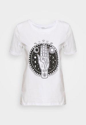 ONLSYMBOL TALL - Print T-shirt - white