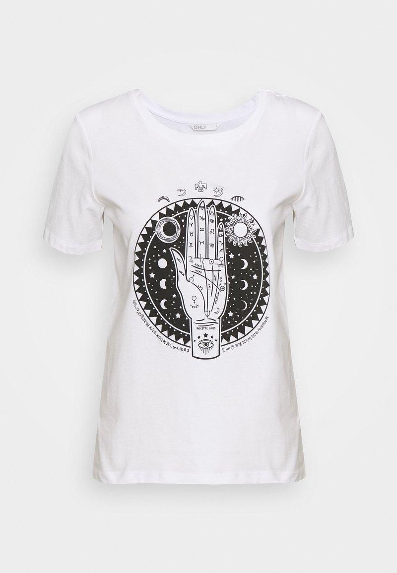 ONLY Tall - ONLSYMBOL TALL - T-Shirt print - white