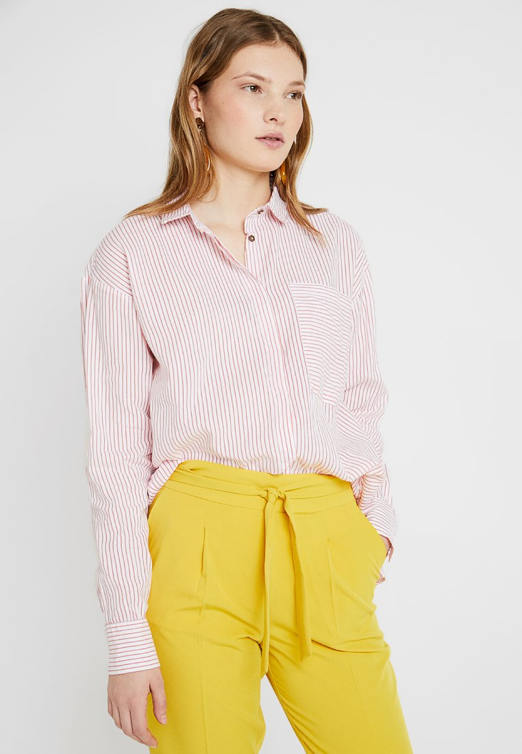 ONLY Tall - ONLFCARRY LIFE L/S SHIRT WVN TALL - Camisa - bittersweet