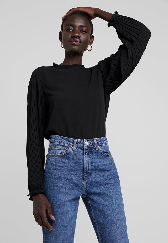 ONLFAITH FRILL - Blouse - black
