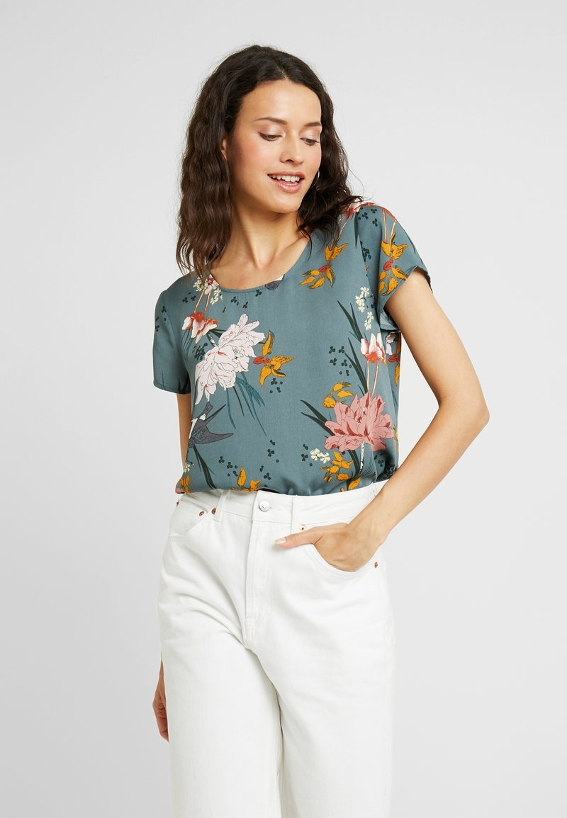 ONLY Tall - ONLELEONORA SLEEVE  - Bluse - balsam green