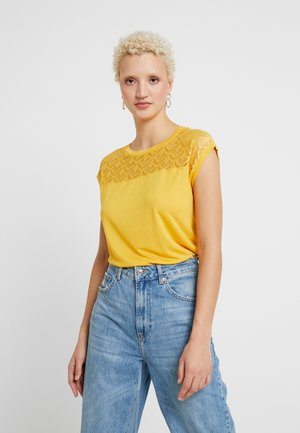ONLNICOLE  MIX - T-shirt print - yolk yellow