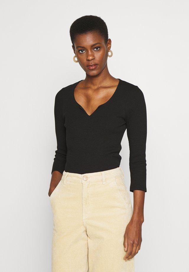 ONLMIRA LIFE - Langarmshirt - black
