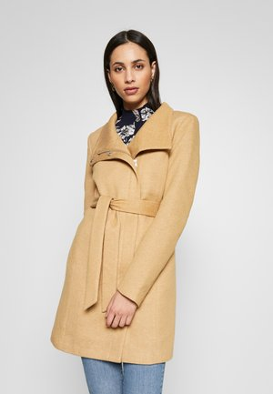 ONLELLI LIGHT COAT - Cappotto corto - camel/melange