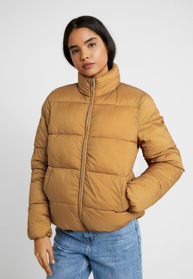 ONLNINA QUILTED JACKET - Veste d'hiver - toasted coconut