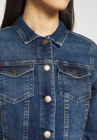 ONLY Tall - ONLWESTA - Jeansjacke - dark blue denim - 4