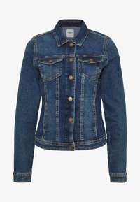 ONLY Tall - ONLWESTA - Jeansjacke - dark blue denim - 3