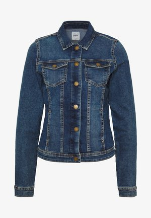 ONLWESTA - Jeansjakke - dark blue denim