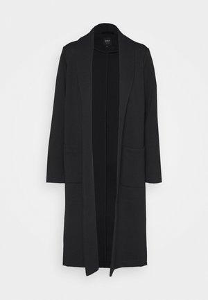 ONLSISSY DUSTER LONG COAT - Zimní kabát - black