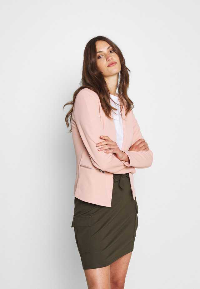 ONLMADDY ANNA LIFE ZIP - Blazer - misty rose