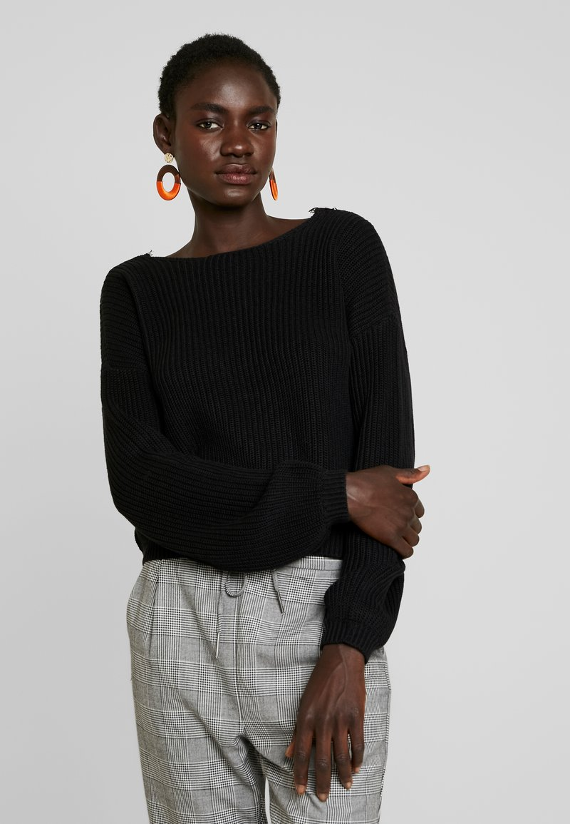 ONLY Tall - ONLXENIA - Strickpullover - black