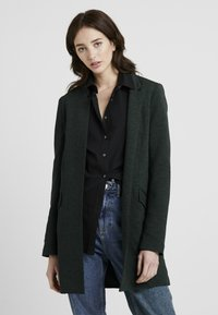 ONLY Tall - ONLLINDA COATIGAN - Short coat - green gables/melange - 0