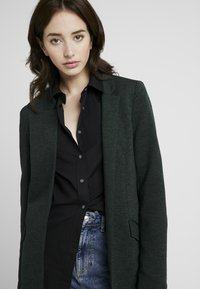 ONLY Tall - ONLLINDA COATIGAN - Short coat - green gables/melange - 4