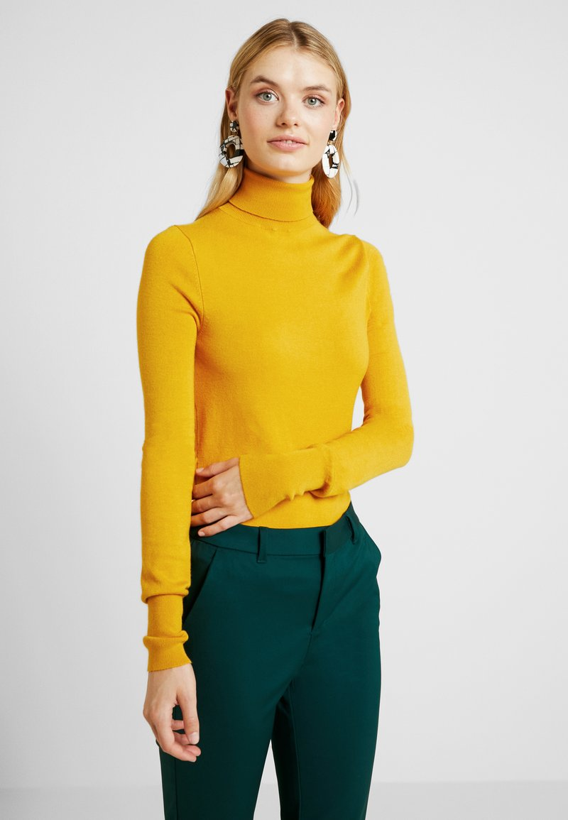 ONLY Tall - ONLVENICE ROLLNECK - Jumper - golden yellow