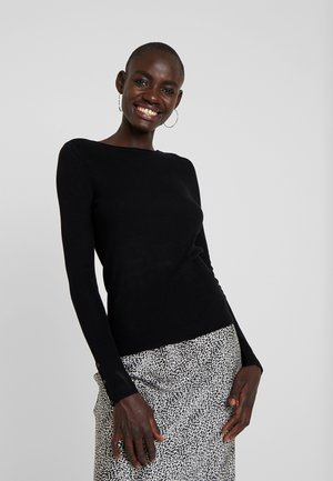 ONLIZA BUTTON - Jumper - black