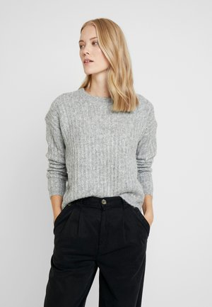 ONLCHUNKY - Jumper - light grey melange