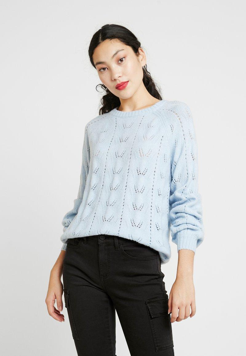 ONLY Tall - ONLALANA - Strikkegenser - cashmere blue