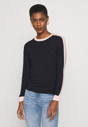 ONLSELENA PULLOVER CC TALL KNT - Pullover - night sky/w. rose smoke