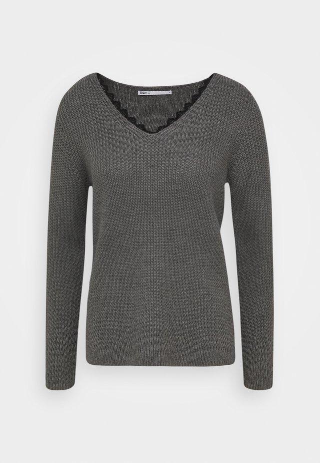 ONLJENNIE LIFE TALL - Jersey de punto - medium grey melange