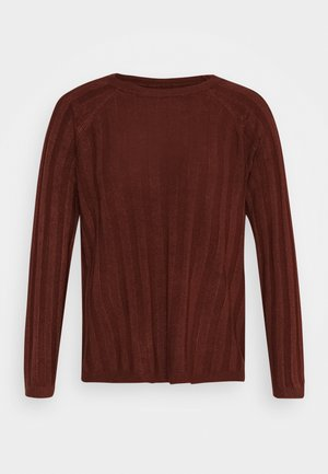 ONLPEPS PULLOVER TALL - Maglione - fired brick
