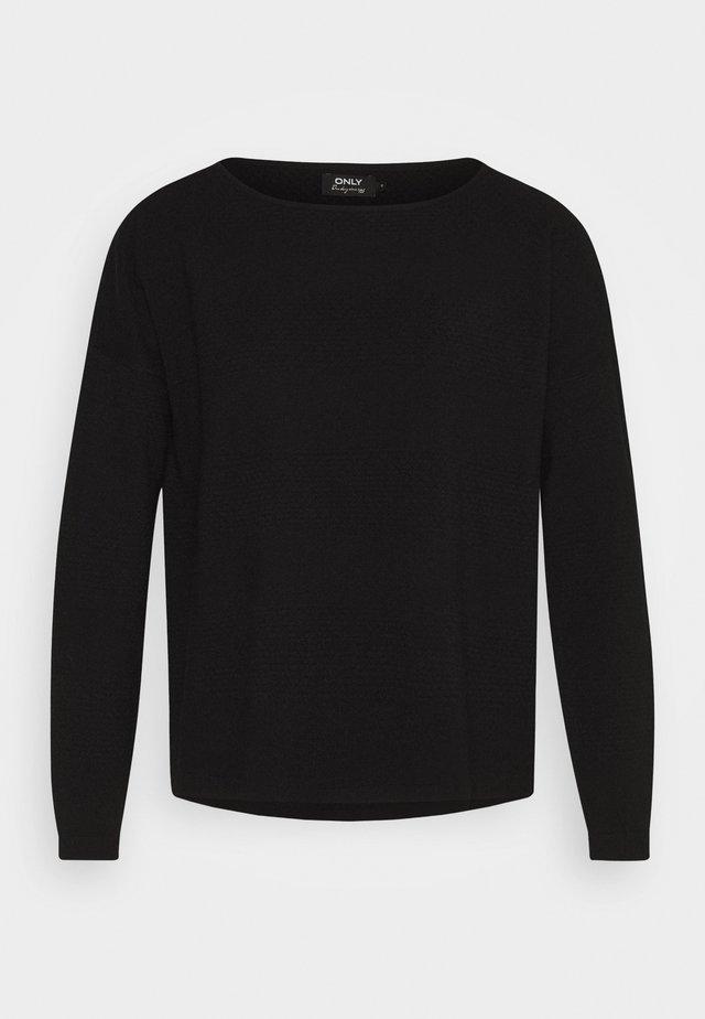 ONLBRENDA TALL - Jersey de punto - black