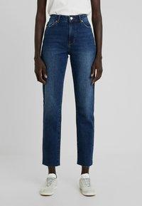 ONLY Tall - ONLEMILY STRAIGHT - Jeans Skinny Fit - dark blue denim - 0