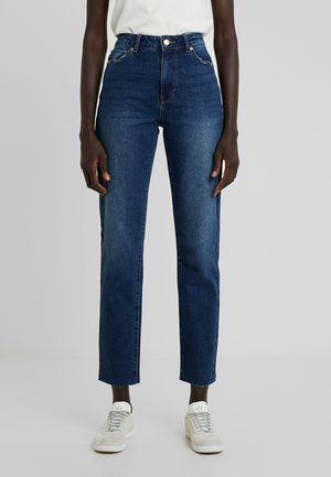 ONLEMILY STRAIGHT - Jeans Skinny Fit - dark blue denim