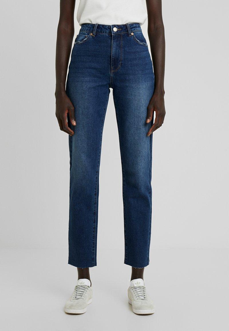 ONLY Tall - ONLEMILY STRAIGHT - Jeans Skinny Fit - dark blue denim
