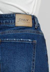 ONLY Tall - ONLEMILY STRAIGHT - Jeans Skinny Fit - dark blue denim - 5