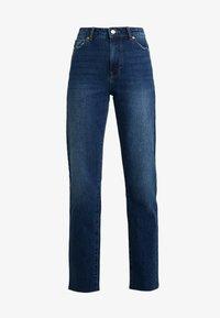 ONLY Tall - ONLEMILY STRAIGHT - Jeans Skinny Fit - dark blue denim - 4