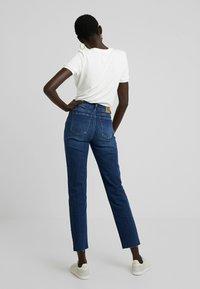 ONLY Tall - ONLEMILY STRAIGHT - Jeans Skinny Fit - dark blue denim - 2