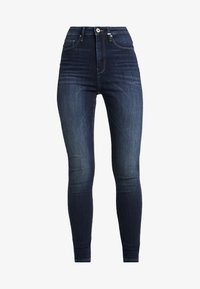 ONLY Tall - ONLGOSH HIGHWAIST - Skinny-Farkut - dark blue denim