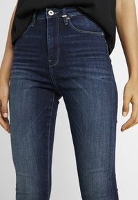 ONLY Tall - ONLGOSH HIGHWAIST - Skinny-Farkut - dark blue denim - 3