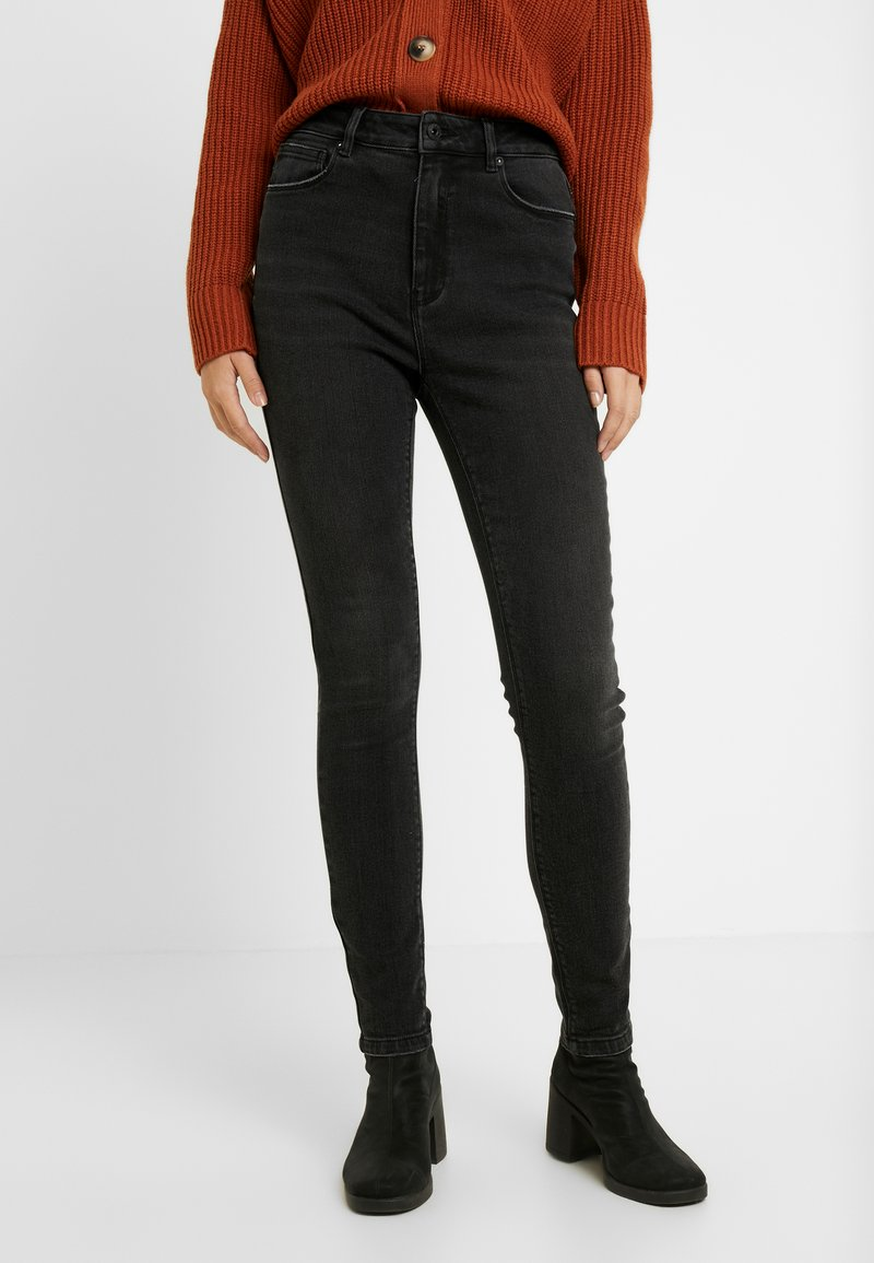 ONLY Tall - ONLMILA SKINNY ANK - Jeans Skinny Fit - black