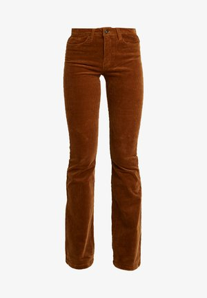 Flared jeans - toasted coconut