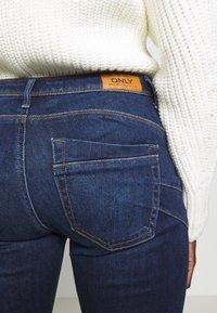ONLY Tall - ONLALLAN PUSH UP - Jeans Skinny Fit - dark blue denim - 3