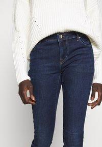 ONLY Tall - ONLALLAN PUSH UP - Jeans Skinny Fit - dark blue denim - 5