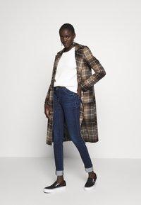 ONLY Tall - ONLALLAN PUSH UP - Jeans Skinny Fit - dark blue denim - 1