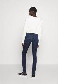 ONLY Tall - ONLALLAN PUSH UP - Jeans Skinny Fit - dark blue denim - 2