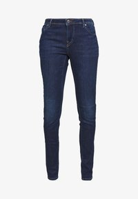 ONLY Tall - ONLALLAN PUSH UP - Jeans Skinny Fit - dark blue denim - 4