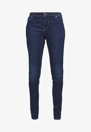 ONLALLAN PUSH UP - Jeans Skinny - dark blue denim