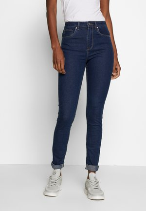 ONYPAOLI - Straight leg jeans - dark blue denim