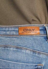 ONLY Tall - ONLALLAN PUSH UP  - Jeans Skinny Fit - light blue denim - 4