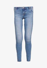ONLY Tall - ONLALLAN PUSH UP  - Vaqueros pitillo - light blue denim - 3