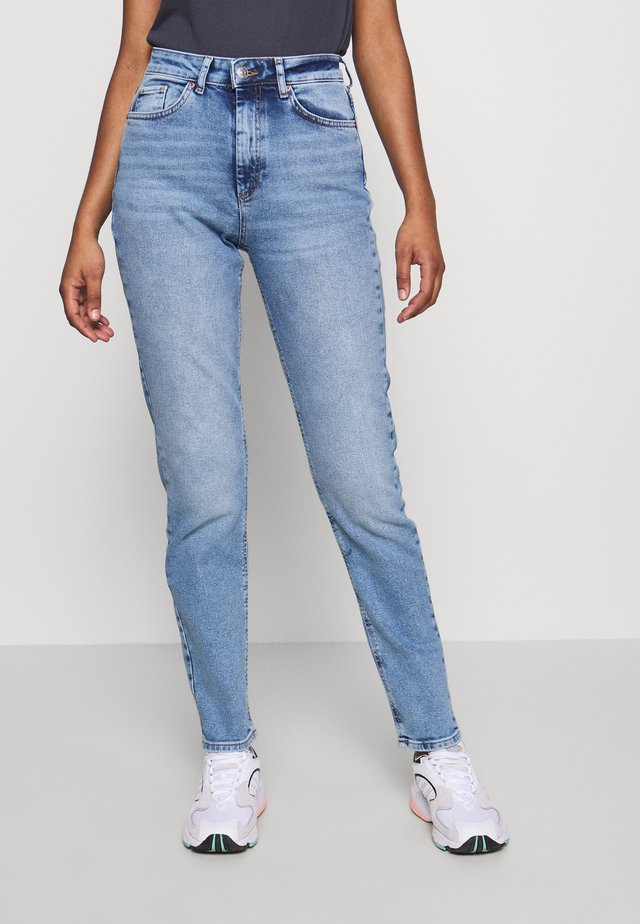 ONLVENEDA LIFE MOM  - Relaxed fit jeans - light blue denim