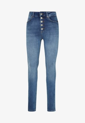 ONLBLUSH LIFE BUTTON - Skinny džíny - medium blue denim